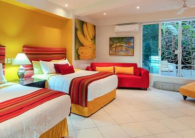 beautiful bedroom at casa yvonneka