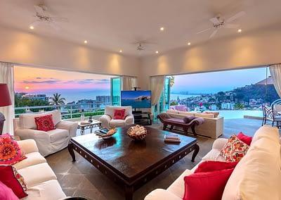 living room at casa yvonneka