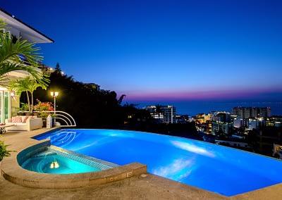 luxury rental villa puerto vallarta casa yvonneka f