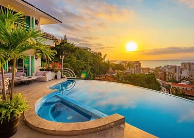 luxury rental villa puerto vallarta casa yvonneka c