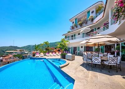 luxury rental villa casayvonneka puerto vallarta 1